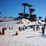 ¿Cómo ir al Centro de esquí Las Araucarias en Chile?