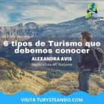 6 tipos de Turismo que debemos conocer